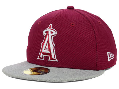 Los Angeles Angels MLB Diamond Heather 59FIFTY Cap Hats