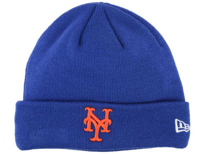 New York Mets MLB Basic Cuffed Knit Hats