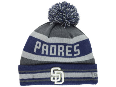 San Diego Padres MLB Team Jake Graphite Knit Hats