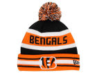 Cincinnati Bengals New Era NFL Team Color Black Jake Knit Hats