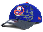 New York Islanders New Era NHL Shadow Graphite 39THIRTY Cap Stretch Fitted Hats