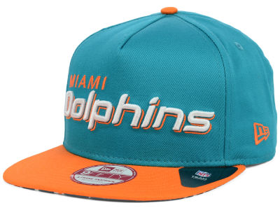 Miami Dolphins NFL Flip Up Team Redux 9FIFTY Snapback Cap Hats