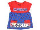 Kansas Jayhawks Klutch College NCAA Toddler Polka Dot Dress Dresses