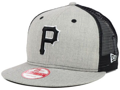 Pittsburgh Pirates MLB Heather Trucker 9FIFTY Snapback Cap Hats