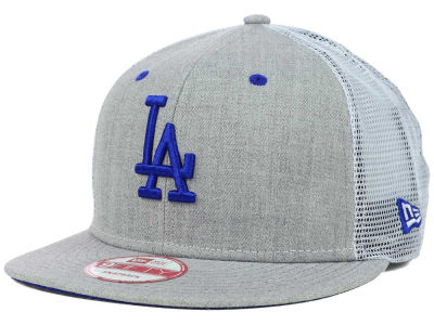 Los Angeles Dodgers MLB Heather Trucker 9FIFTY Snapback Cap Hats