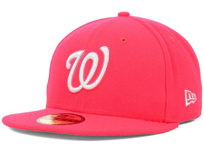 Washington Nationals MLB C-Dub 59FIFTY Cap Hats
