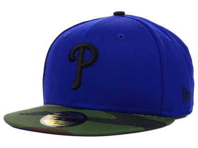 Philadelphia Phillies MLB Color Woodland 59FIFTY Cap Hats