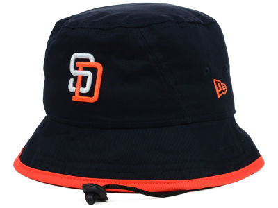 San Diego Padres MLB Basic Tipped Bucket Hats