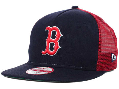 Boston Red Sox New Era Mlb Team Basic Trucker A Frame