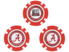 Alabama Crimson Tide Team Golf Golf Poker Chip Markers 3 Pack Toys & Games