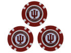 Indiana Hoosiers Team Golf Golf Poker Chip Markers 3 Pack Toys & Games