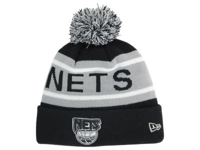 New Jersey Nets NBA HWC Biggest Fan Pom Knit Hats