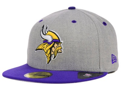 premium selection 60fb0 2aaaf Minnesota Vikings New Era NFL Streamliner 59FIFTY Cap   lids.com