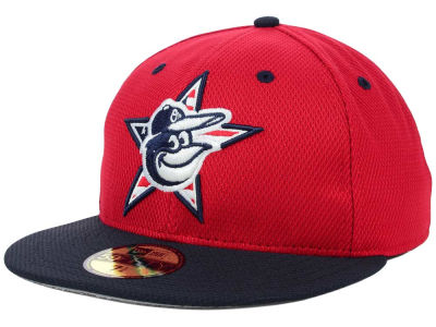 Baltimore Orioles MLB 2014 AC July 4th Stars & Stripes 59FIFTY Cap Hats