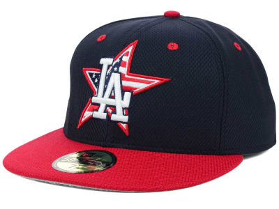 Los Angeles Dodgers MLB 2014 AC July 4th Stars & Stripes 59FIFTY Cap Hats