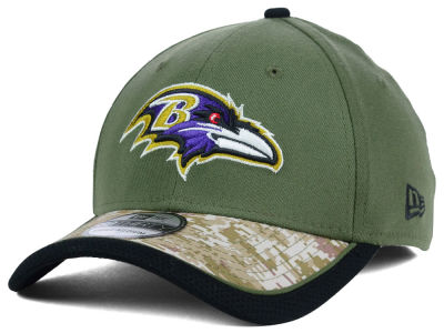 Baltimore Ravens NFL Salute to Service 39THIRTY Cap Hats