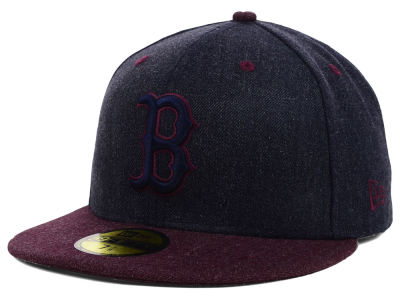 Boston Red Sox MLB Heather Mashup 59FIFTY Cap Hats
