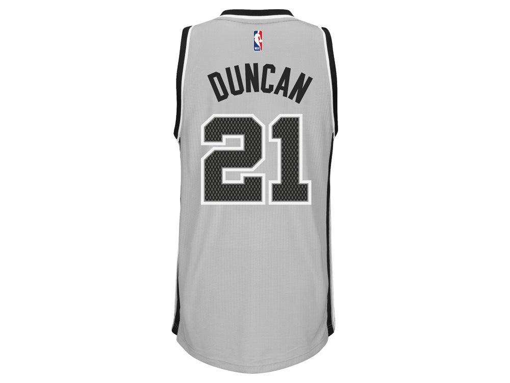 d552893ee durable service San Antonio Spurs Tim Duncan adidas NBA Men s New Swingman  Jersey