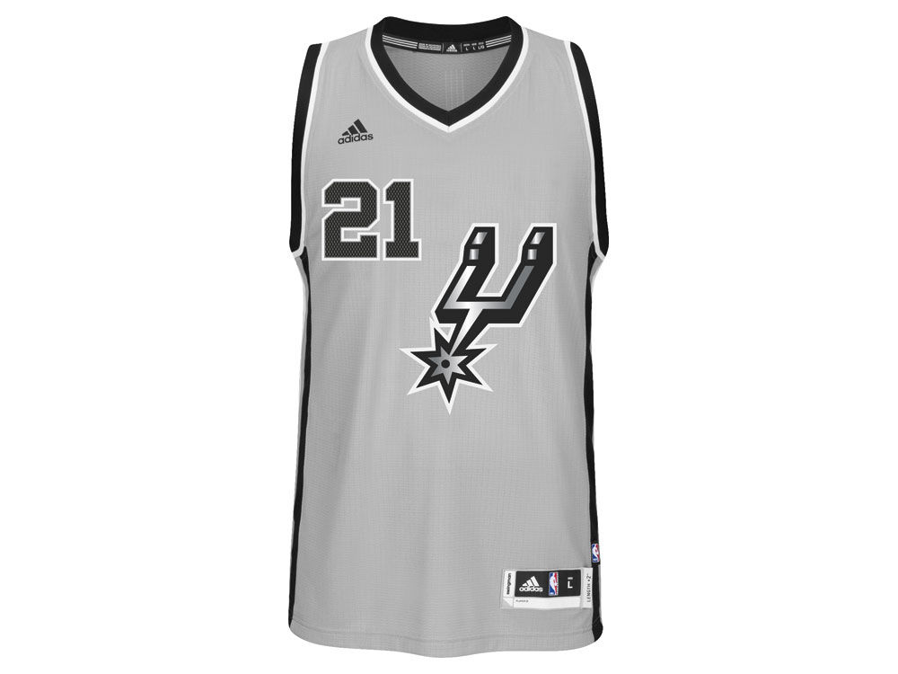 ff2a716e4 durable service San Antonio Spurs Tim Duncan adidas NBA Men s New Swingman  Jersey.