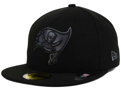 Tampa Bay Buccaneers NFL Black Gray Basic 59FIFTY Cap Hats
