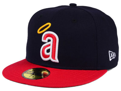 Los Angeles Angels MLB Cooperstown 59FIFTY Cap Hats