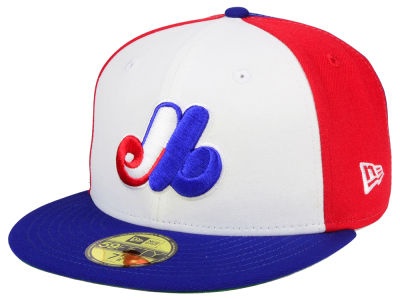 Montreal Expos MLB Cooperstown 59FIFTY Cap Hats