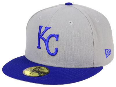 Kansas City Royals MLB Cooperstown 59FIFTY Cap Hats