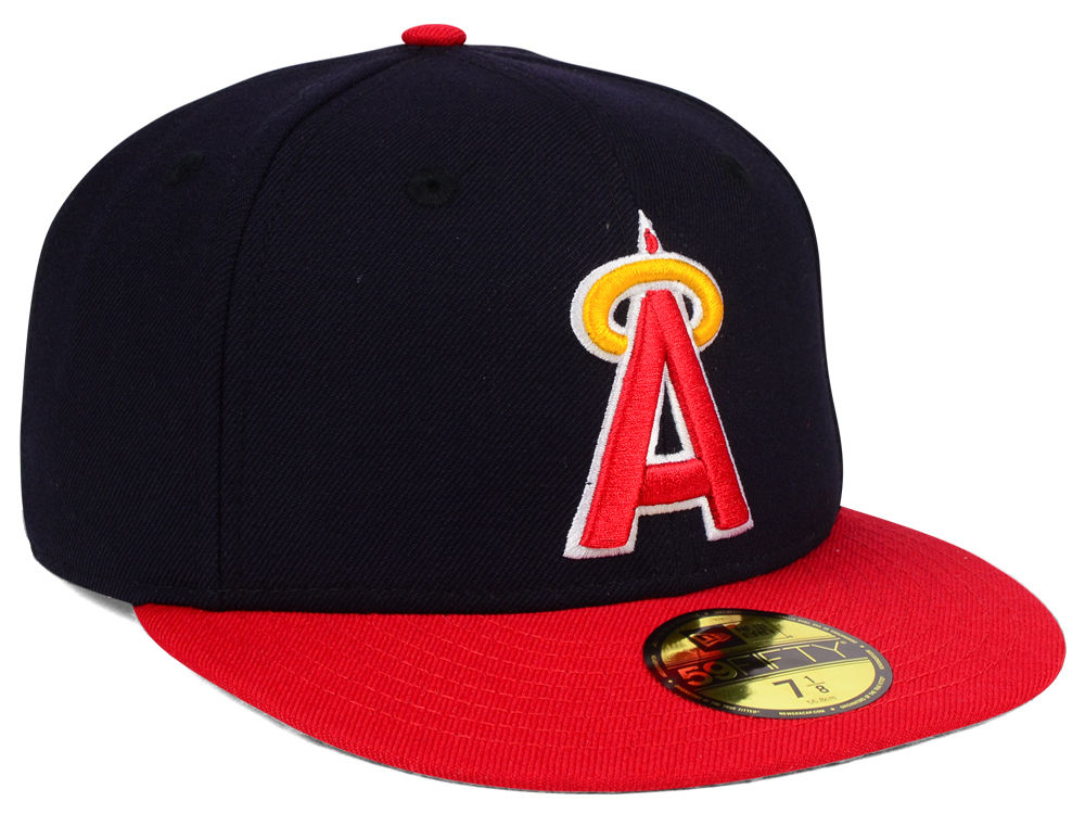 the best attitude 3d0cf 29f9f 80%OFF Los Angeles Angels New Era MLB Cooperstown 59FIFTY Cap