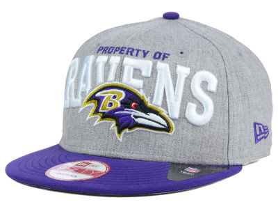 Baltimore Ravens NFL Property of Snap 9FIFTY Snapback Cap Hats