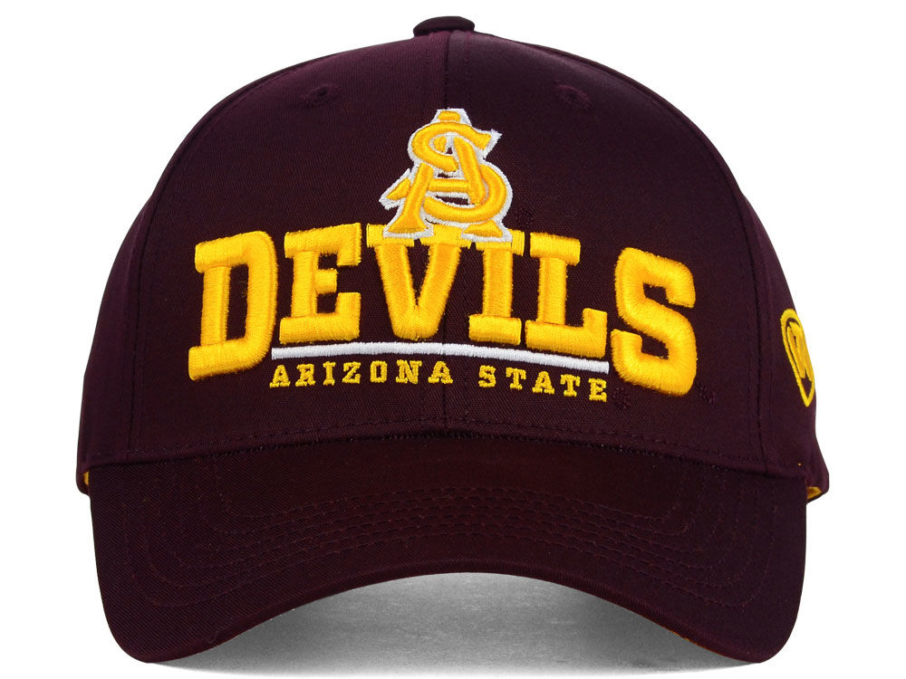 san francisco 2e567 6b90c ... stretch fit top of the world hat cap 3b99d 6eaf9  germany arizona state  sun devils ncaa 2 for 25 top of the world ncaa fan favorite