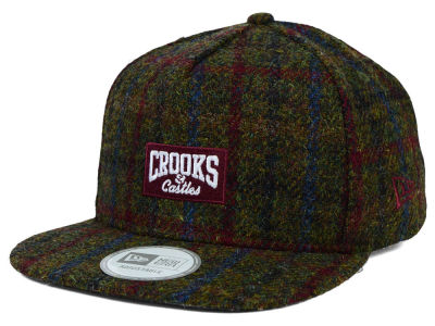 Crooks & Castles Harris Tweed 9FIFTY Strapback Cap Hats
