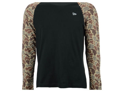 New Era Branded Ameba Raglan Long Sleeve T-Shirt