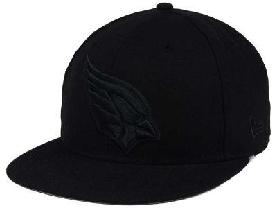 Arizona Cardinals New Era NFL Black on Black 59FIFTY Cap  a03a017a1d2