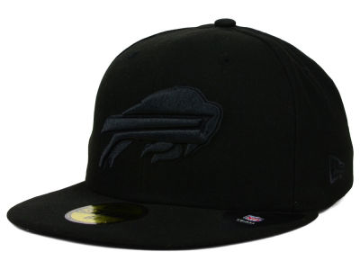 Buffalo Bills NFL Black on Black 59FIFTY Cap Hats