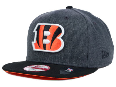 Cincinnati Bengals NFL 2 Tone Action Original Fit 9FIFTY Snapback Cap Hats