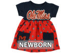 Ole Miss Rebels Klutch College NCAA Newborn Polka Dot Dress Infant Apparel