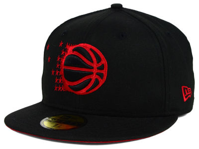 Orlando Magic NBA HWC Black on Color 59FIFTY Cap Hats
