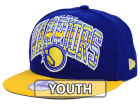 Golden State Warriors New Era NBA HWC Youth Out of Line 9FIFTY Snapback Cap Adjustable Hats