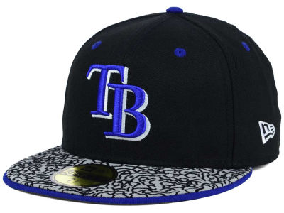 Tampa Bay Rays MLB August Hookups 59FIFTY Cap Hats