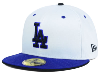 Los Angeles Dodgers MLB August Hookups 59FIFTY Cap Hats
