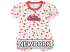 Ole Miss Rebels NCAA Newborn Polka Dot Romper Infant Apparel