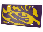 LSU Tigers Mega License Plate Auto Accessories