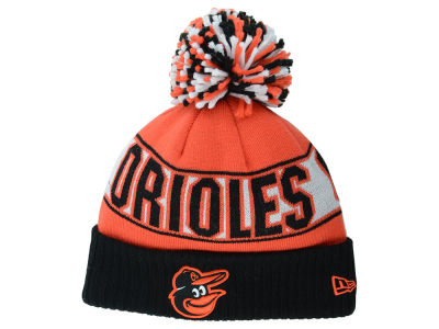 Baltimore Orioles MLB Rep Your Team Pom Knit Hats