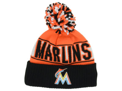 Miami Marlins MLB Rep Your Team Pom Knit Hats