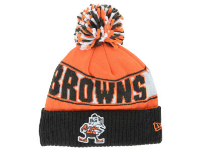 493ee0edee7 Cleveland Browns New Era NFL Rep Your Team Pom Knit