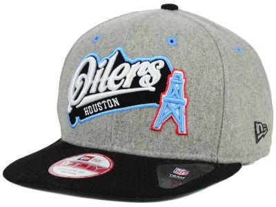 Lids Custom Hats >> Houston Oilers New Era NFL Meltone 9FIFTY Snapback Cap   lids.com