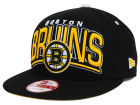 Boston Bruins New Era NHL Back Up 9FIFTY Snapback Cap Adjustable Hats