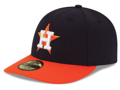 Houston Astros MLB Low Profile AC Performance 59FIFTY Cap Hats