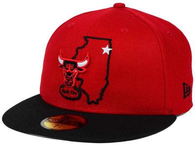 Chicago Bulls New Era Nba Hwc States 59fifty Cap Lids Com