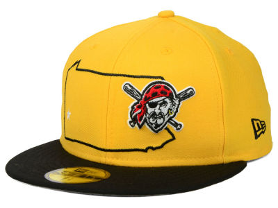 Pittsburgh Pirates MLB States 59FIFTY Cap Hats
